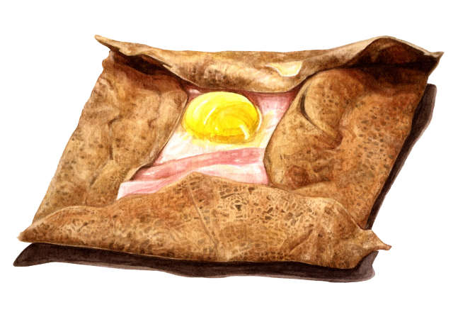 galette drawing